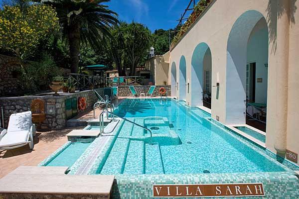 Hotel Villa Sarah Capri Photo Gallery